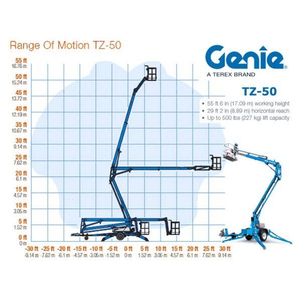 Genie TZ50 huren