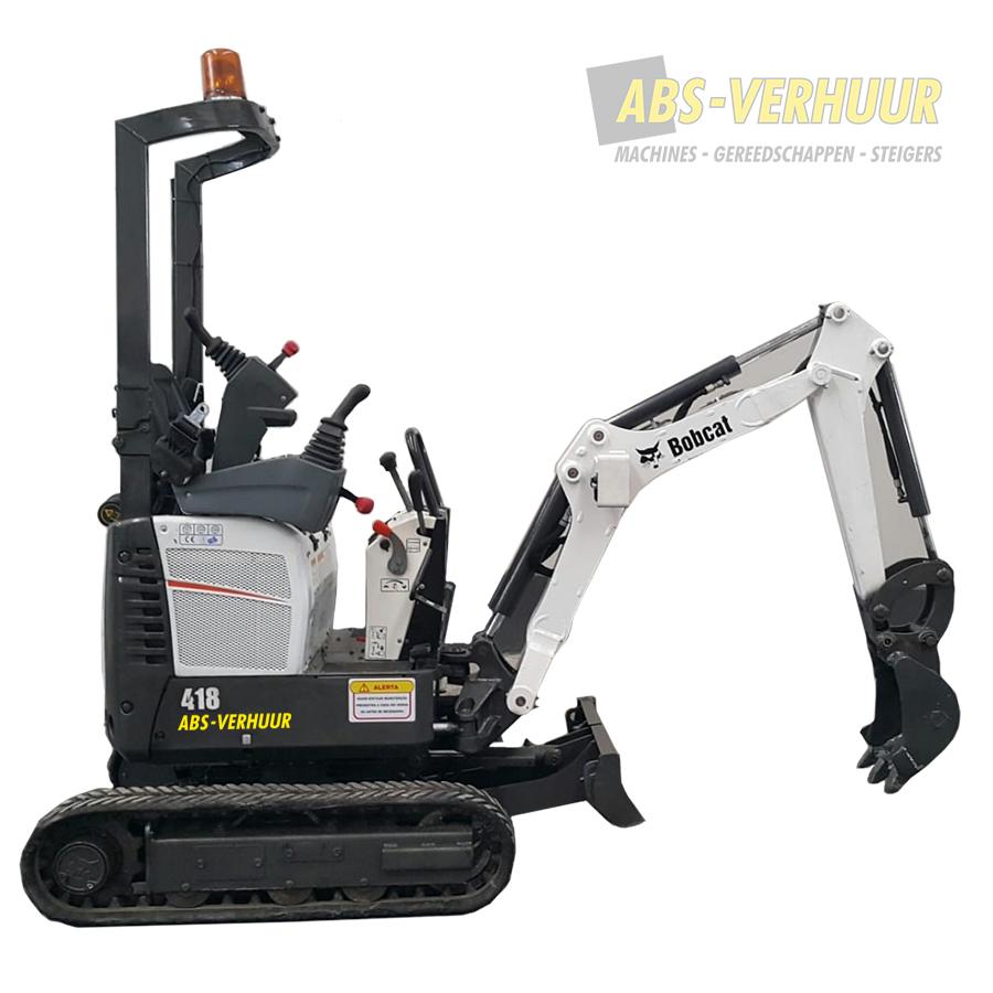 Minigraver   Bobcat 418 - ABS