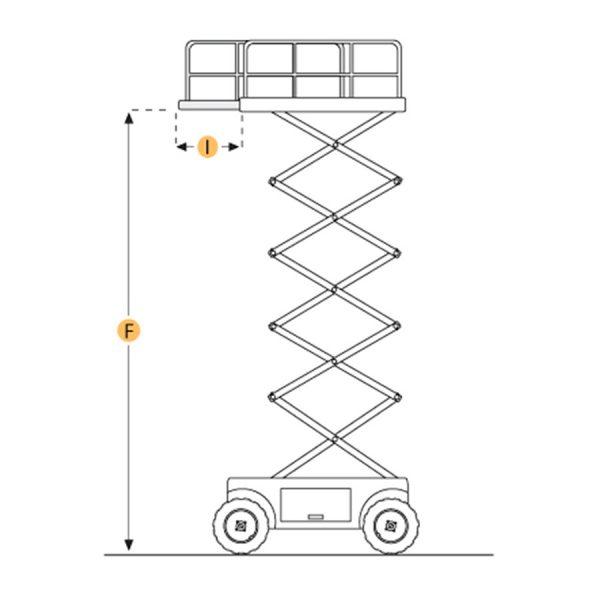 Holland Lift Q135DL24 huren