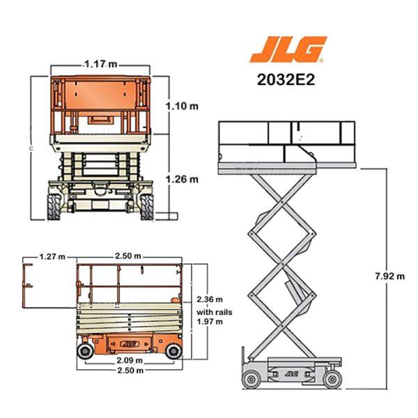 JLG2646 gegeven