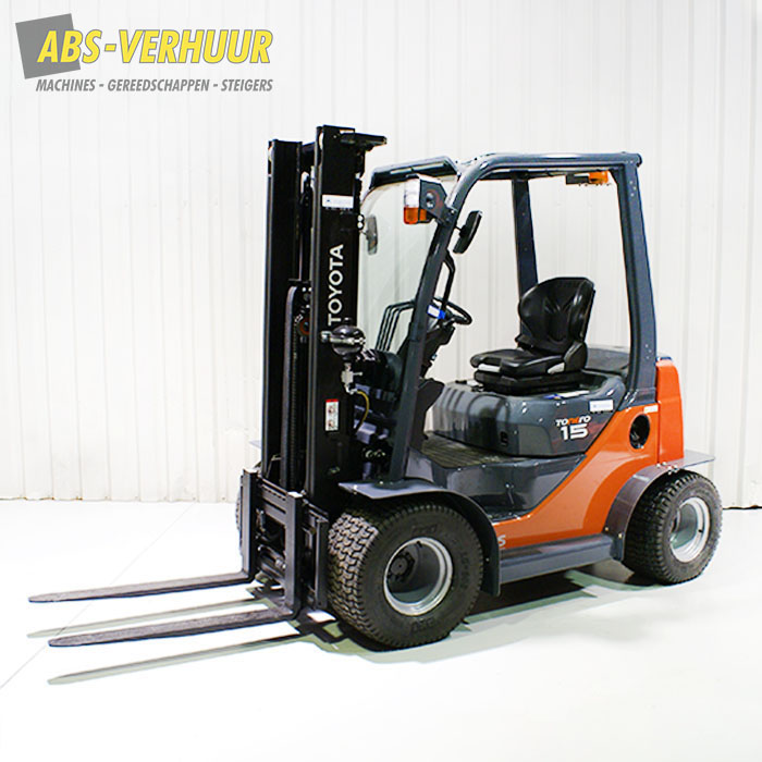 Diesel heftruck 1500 kg 1,5 ton