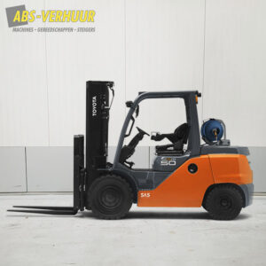 Diesel heftruck 5000 kg 5 ton