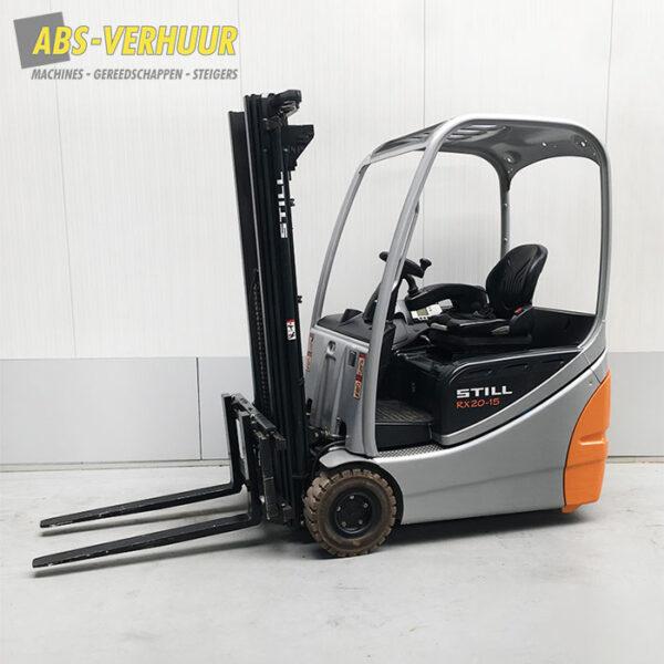 Elektrische heftruck 1500 kg - 1,5 ton